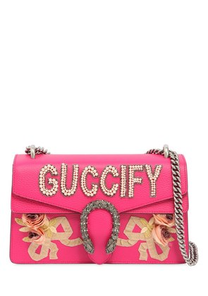 SMALL DIONYSUS 'GUCCIFY' LEATHER BAG