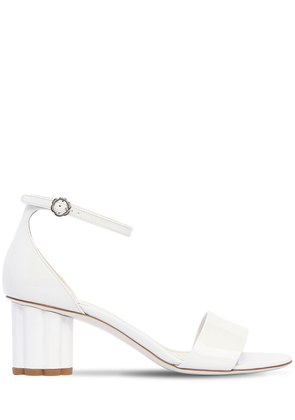 55MM ERACLEA PATENT LEATHER SANDALS