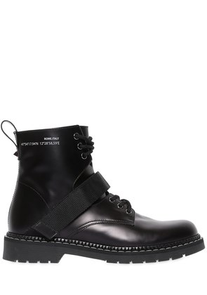ALWAYS LEATHER LACE-UP BOOTS