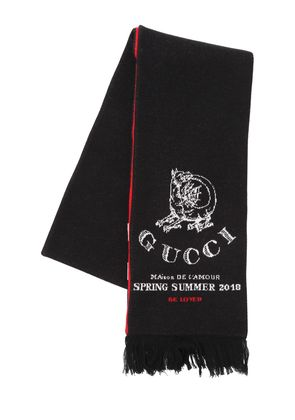 DRAGON WOOL JACQUARD SCARF