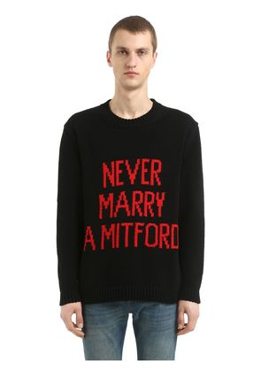 NEVER MARRY A MITFORD COTTON SWEATER