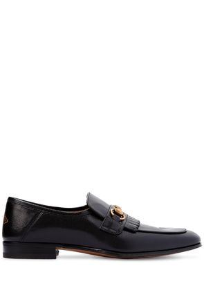 HARBOR FRINGED HORSEBIT LEATHER LOAFERS