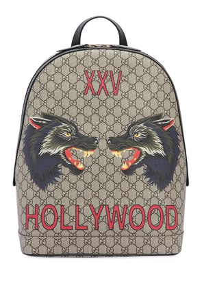 WOLVES PRINTED GG SUPREME BACKPACK