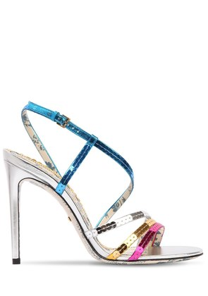 105MM HAINES SEQUINED SANDALS