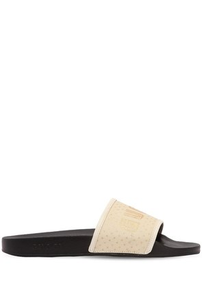 PURSUIT GUCCY STARS RUBBER SLIDE SANDALS