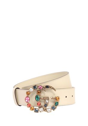 40MM GG MARMONT MULTICOLOR BUCKLE BELT