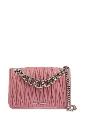 CLUB QUILTED LEATHER SHOULDER BAG