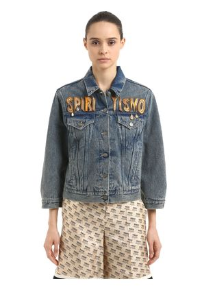 SPIRITISMO DENIM JACKET