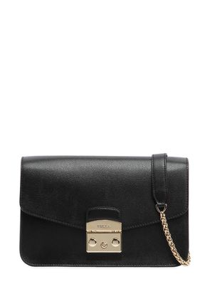 SMALL METROPOLIS SAFFIANO LEATHER BAG