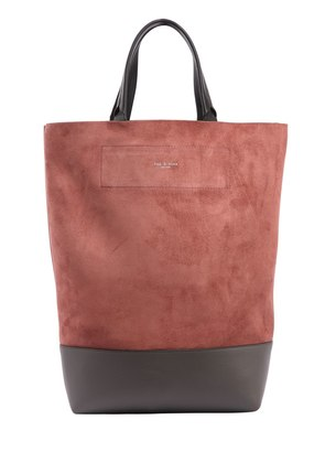 WALKER CONVERTIBLE SUEDE TOTE BAG
