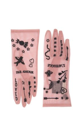 PAR AMOUR SHEER TULLE GLOVES