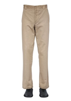 23CM SPRAYED COTTON GABARDINE PANTS