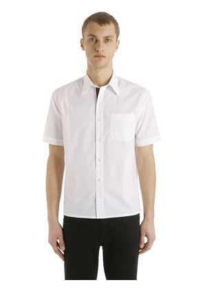 FF BAND COTTON POPLIN SHORT SLEEVE SHIRT