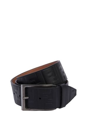 40MM FF SIGNATURE EMBOSSED LEATHER BELT