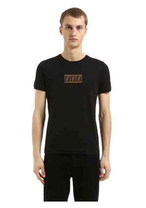 FF PATCH COTTON JERSEY T-SHIRT