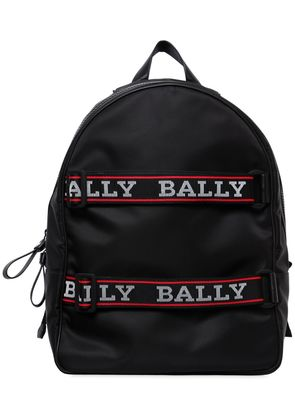 NYLON BACKPACK W/ LOGO STRAPS
