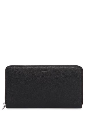 SAFFIANO LEATHER ZIP AROUND WALLET
