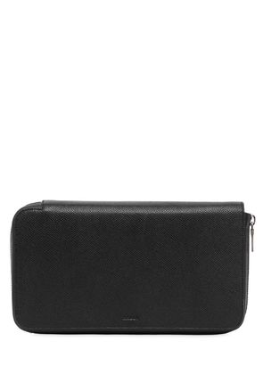 TRAVELLER SAFFIANO LEATHER ZIP WALLET