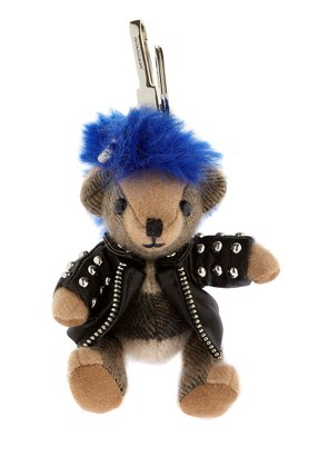 THOMAS TEDDY PUNK KEY CHAIN