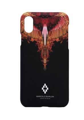 ORANGE FLAME IPHONE X COVER