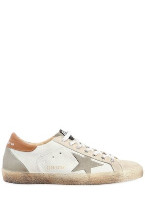 SUPER STAR LEATHER SNEAKER