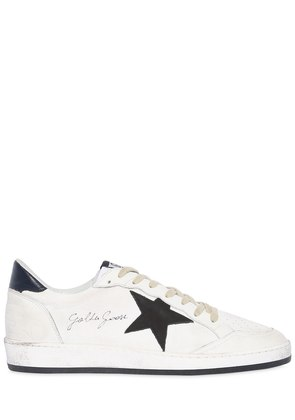 BALL STAR LEATHER & CANVAS SNEAKERS