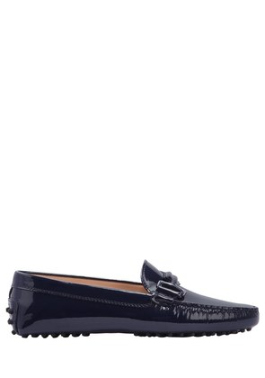 GOMMINO DOUBLE T PATENT LEATHER LOAFERS