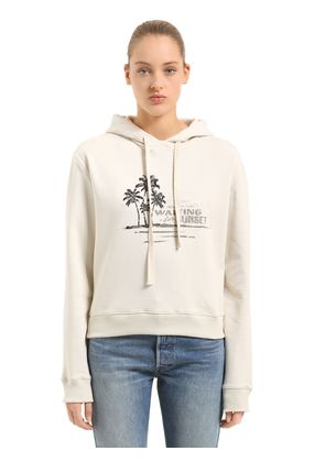 WAITING FOR SUNSET HOODED SWEATSHIRT
