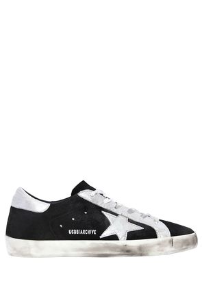 20MM SUPER STAR ARCHIVE SUEDE SNEAKERS