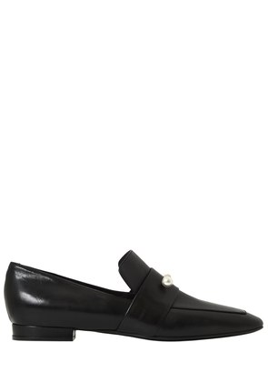 20MM MARCELLO JEWELED LEATHER LOAFERS