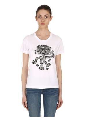 KEITH HARING COTTON JERSEY T-SHIRT