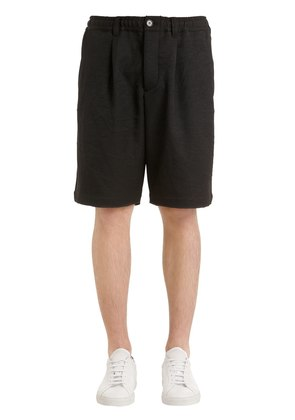 LINED SHORTS W/ ELASTIC WAISTBAND