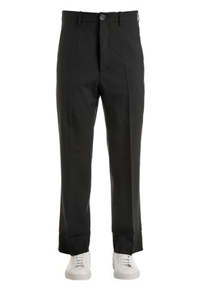 24CM VIRGIN WOOL PANTS W/ LINING