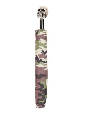 RESIN SKULL CAMO COMPACT UMBRELLA