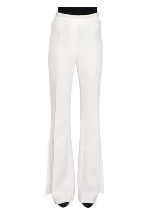 FLARED GEORGETTE PANTS