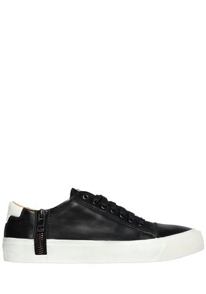 ZIP AROUND LEATHER SNEAKERS
