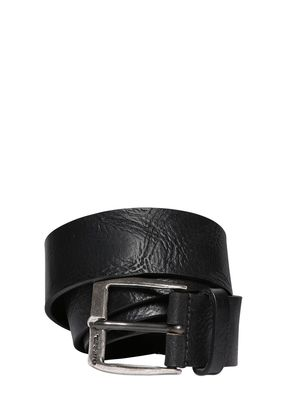 40MM VINTAGE TREATED LEATHER BELT
