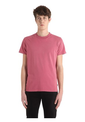 WASHED COTTON JERSEY T-SHIRT