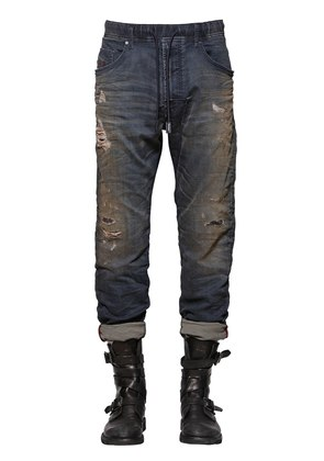 17CM NARROT DENIM EFFECT JOGGJEANS