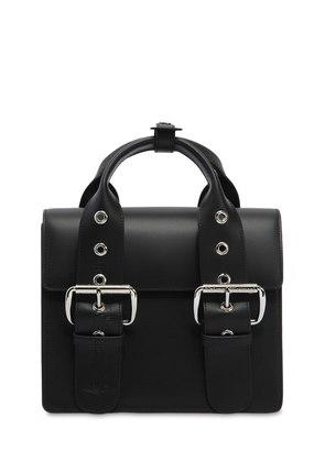 SMALL ALEX LEATHER TOP HANDLE BAG