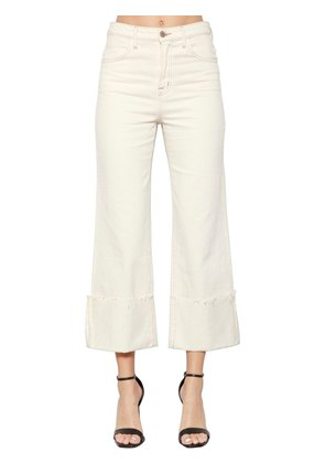 JOAN HIGH RISE WIDE LEG DENIM JEANS