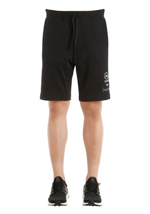 SLIM GRAPHIC FRENCH TERRY SWEAT SHORTS