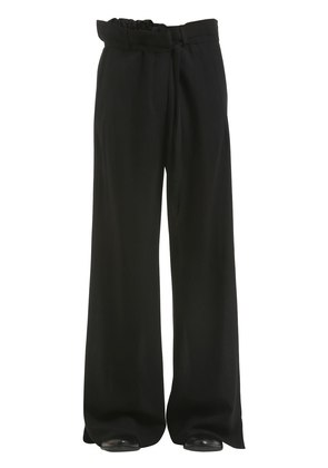 WIDE LEG VIRGIN WOOL PANTS