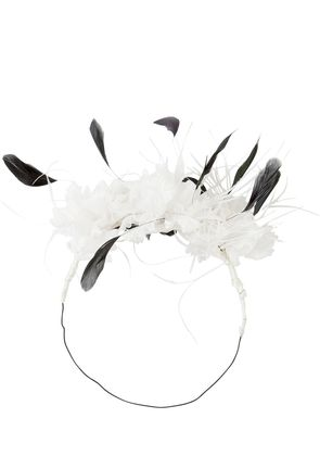 FLOWERS & FEATHERS CROWN