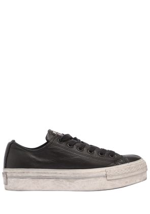 40MM CHUCK TAYLOR OX LEATHER SNEAKERS
