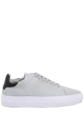 CLEAN 360 MATTE LEATHER SNEAKERS