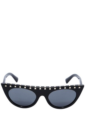 FLAT TOP SUNGLASSES W/ STUDS