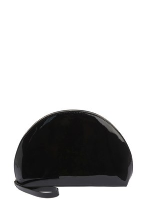 MINI MOON PATENT LEATHER CLUTCH