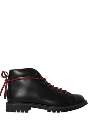 OAKE PULL UP LEATHER BOOTS