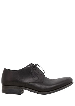 4 HOLE LEATHER LACE-UP SHOES